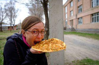 Une petite Lamajo - pizza arménienne